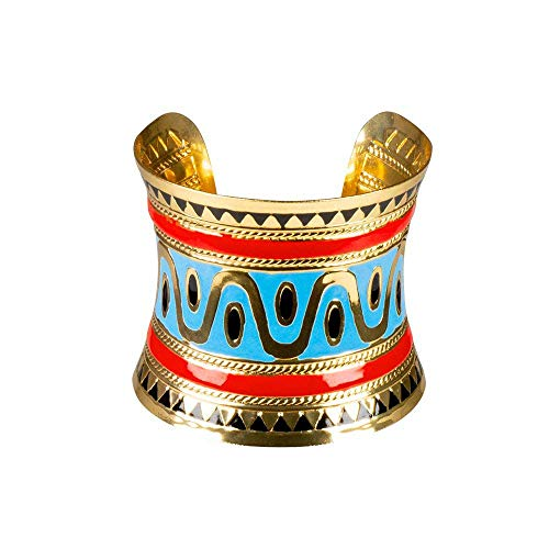 Boland 64519 – Pulsera Egipto, 1 pieza, talla única, oro, dibujos egipcios,...