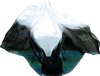Nimiman New Arrivals 100% Silk Belly Dance Silk Veils Belly Dancing accessories