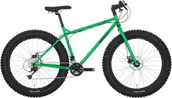 Surly Pugsley Fatbike Komplettrad, 26, XL/22, grassy green