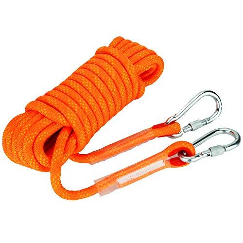 RKY Sicherheitsseil, 10mm / 12mm / 14mm Polypropylen Kletterseil im Freien Höhle Schutz Seil Rettungs Flucht Seil klettern, Überlebensausrüstung Faserseil (Color : 14mm, Size : 15m)