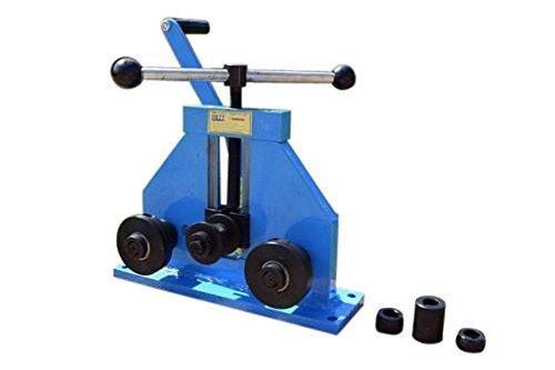 METZ-Tools - Rodillo de anillo montado en banco para tubos de perfil de tubo