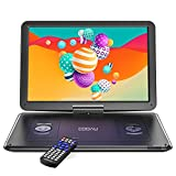 """COOAU 17.9"""" Portable DVD Player with 15.6' HD Large Screen, Kids DVD Player with 6 Hrs..."""