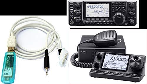 GPS Receiver Module for Icom IC - 7100 or IC - 9100 Ham, Amateur Radio GPS7100 v.2