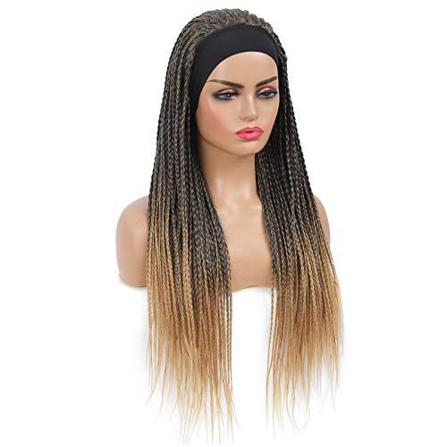 Braided wigs with headband _image1