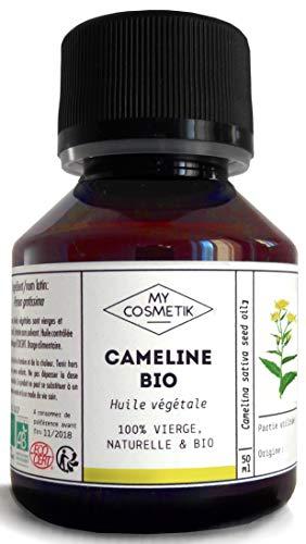 Huile végétale de Cameline BIO - MyCosmetik - 10 ml