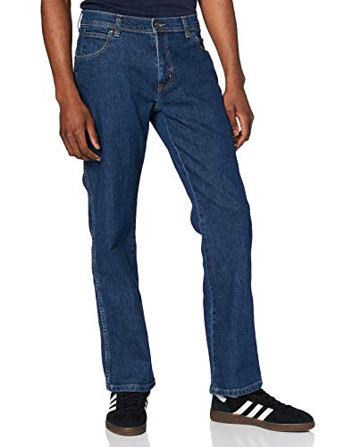 Wrangler Herren Regular Fit-W10I230 Jeans, Blau (Darkstone), W32/L32