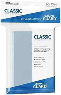 Ultimate Guard 100 Pochettes Standard Card Sleeves pour Carte Magic, Pokemon, Star Wars