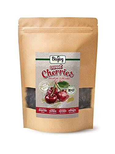 Biojoy Cerezas deshidratadas BÍO, sin hueso sin azufre y sin azúcar (0,5 kg)