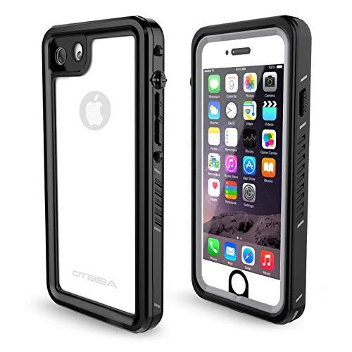 OTBBA iPhone 7/8/SE Waterproof Case, Waterproof Shockproof Snowproof Dirtproof Full Body Protective Underwater Case for iPhone 7/8/SE(Clear)