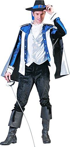 Musketier Athos Kostüm für Herren Gr. 56 58