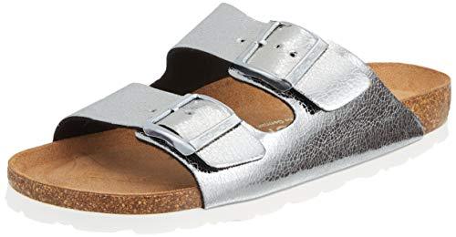 Rohde Damen Alba Pantoletten, Silber (Silber 89), 39 EU
