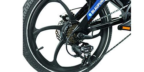 41Rv+XlUtHL - Blaupunkt FIETE 500 | Falt-E-Bike, Designbike, Klapprad, StVZO, 20 Zoll, leicht, Klapprad, Faltrad, e-bike, kompakt, E-Falt Bike