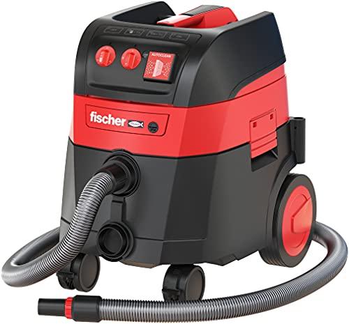 fischer - Aspirador en seco y húmedo, aspirador eléctrico virutas y polvo 1200 W, Clase polvo M