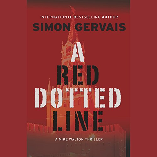 A Red Dotted Line audiobook cover art