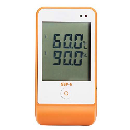 Temperatura Monitor de humedad Termómetro digital Higrómetro Registrador Registrador de datos con sonda y cable de datos USB