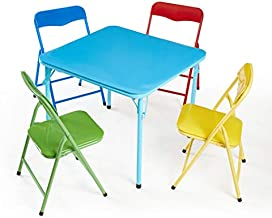 Heritage Kids 5Piece Table & Chair Set, Primary