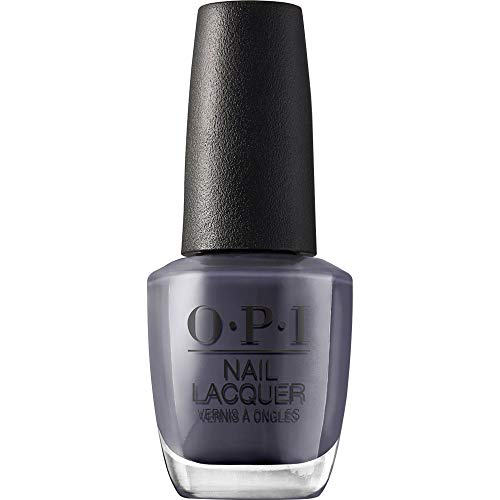 OPI Nail Lacquer, Less is Norse, Blue Nail Polish, Iceland Collection, 0.5 fl oz