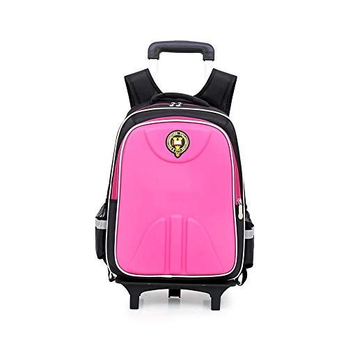PIJN Childrens/Kids Luggage Children's Trolley Schoolbag Elementary School Boys Girls Trolley...