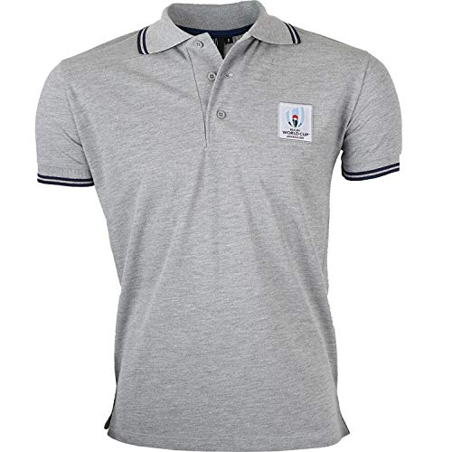 Polo Coupe du Monde DE Rugby 2019 - Collection Officielle Rugby World Cup - Taille Homme XL