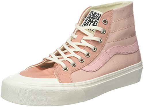 Vans Unisex-Erwachsene Sk8-hi 138 Decon Sf Hohe Sneaker, Pink (Evening Sand/Muted Clay R36), 36 EU