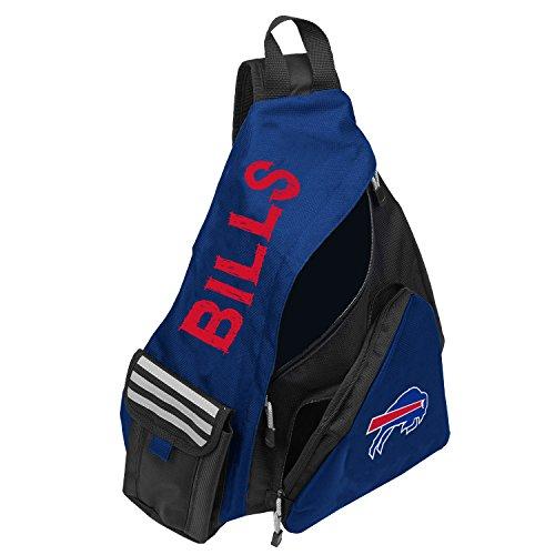 Slingbag con licencia oficial de la NFL 'Leadoff', multicolor, 20 pulgadas, Leadoff - Mochila bandolera, Buffalo Bills, 20' x 9' x 15'