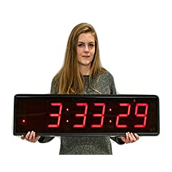 Creative Clock Huge Gym Clocks (Medium)