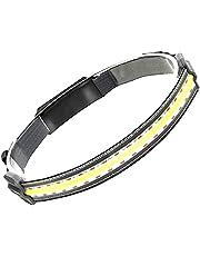 Hi-Beam werklamp, draagbare waterdichte breedstraler, led-koplamp, 3 lichtmodi, 220 graden lichtverlichting, geschikt voor buitenwerk en lichaamsbeweging