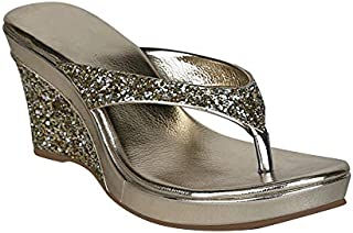 Fashion Box Wedges Sandals for Women's