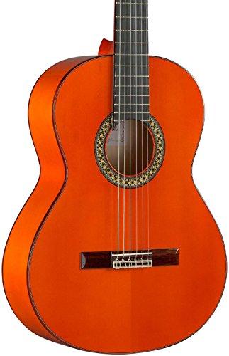 Alhambra 6 String Acoustic Guitar, Right, Solid Canadian Cedar, Flamenco (4F-US)