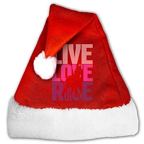 Doge Face - Gorro unisex de Pap Noel, cmodo, color rojo y blanco, de terciopelo para fiesta de Navidad