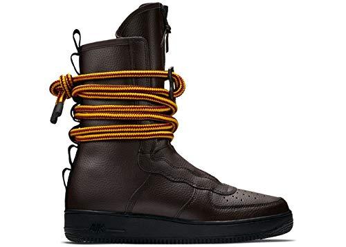Nike SF AF1 - Zapato casual para hombre (15, color marrón/negro)