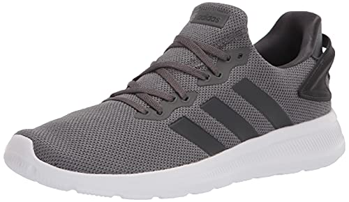 adidas Men's Lite Racer BYD 2.0 Trail Running Shoe, Grey/Grey/Carbon, 8.5
