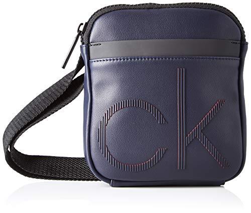 Calvin Klein Ck Up Mini Reporter - Borse a spalla Uomo, Blu (Navy), 1x1x1 cm (W x H L)
