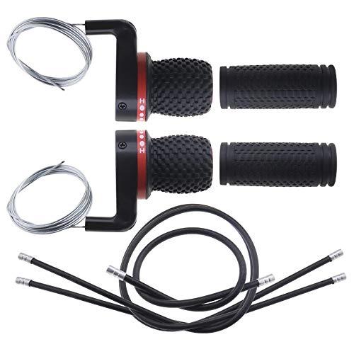 Kit de reparación de cambio de bicicleta con cables de agarre para...