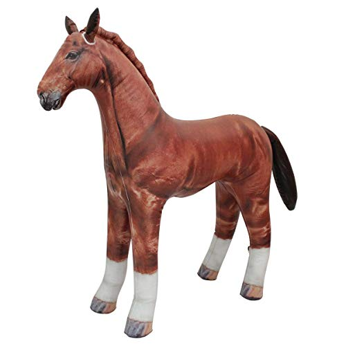 Jet Creations Inflatable Horse 38' long Great for pool party decoration, birthday kids and adult stuffed animals AN-HORSE (Packaging may vary)