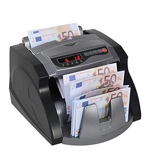 Contador de Billetes, Máquina de Contar Dinero de Billetes, Detección UV y MG