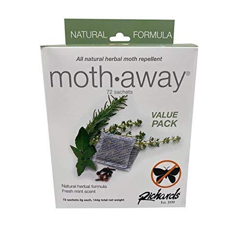 Richards Moth Away/Herbal - Value Pack - 72 sachets