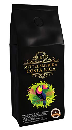 C&T Kaffee aus Costa Rica 100% Arabica exzellenter Premium Kaffee aus Mittelamerika (Ganze Bohnen, 1000 g)