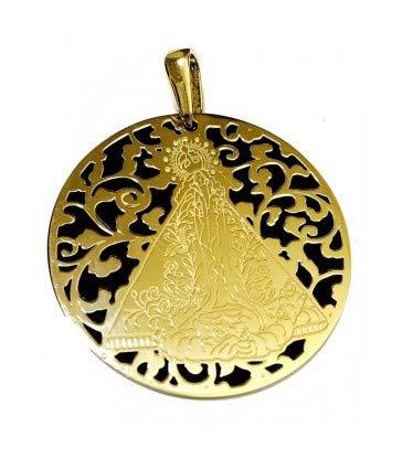 Medalla Virgen de la Salud en Plata de Ley