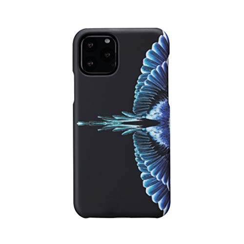 MARCELO BURLON COUNTY OF MILAN Funda Compatible con iPhone 11 Pro - Funda Burlon Original con Cristal Templado 9H - Rígida - Soft Touch y antichoques - Protección Delantera Reforzada