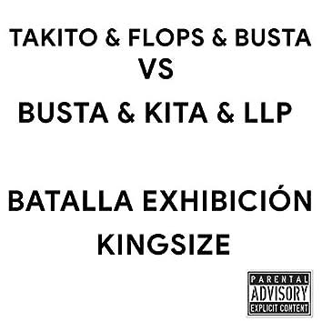 Takito & Flops & Busta Vs Kita & LLP & Bona (Batalla Exhibición)