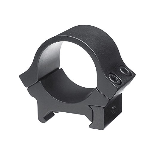 B-Square 30-mm Sport Utility Rings, Standard Dovetail-Low Rise, Matte Black Finish