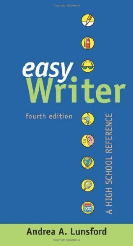 EasyWriter: A High School Reference by Lunsford, Andrea A. Published by Bedford/St. Martin's 4th (fourth) edition (2009) Hardcover-spiral