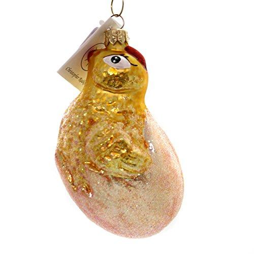 Christopher Radko Spring Debut Glass Easter Egg Chick 971920
