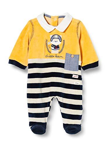 Chicco Tutina con Apertura sul patello Pigiamino per Bambino e Neonato, Giallo e Nero, 062 Bimbo