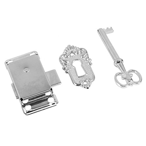 Stile antico vintage classico Archaize serrature entrata porta chiavistello per cassetti/armadio/guardaroba/armadio/porta lucchetto con chiavi