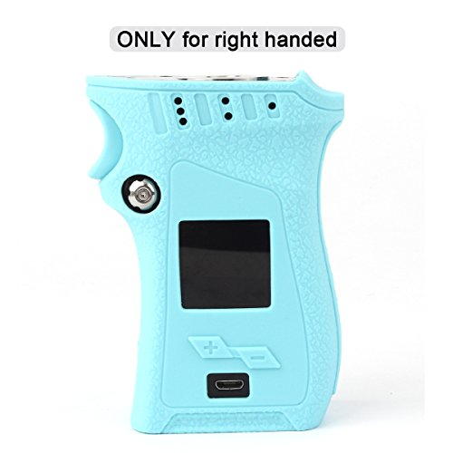 Smok MAG 225W Case for Right Handed Edition, CEOKS Skin Rubber Cover for Smok mag 225W Right Handed Mag TC Mod Box Protective Silicone Texture Case Skin wrap Shield, Anti-Slip & Durable (Teal Blue)