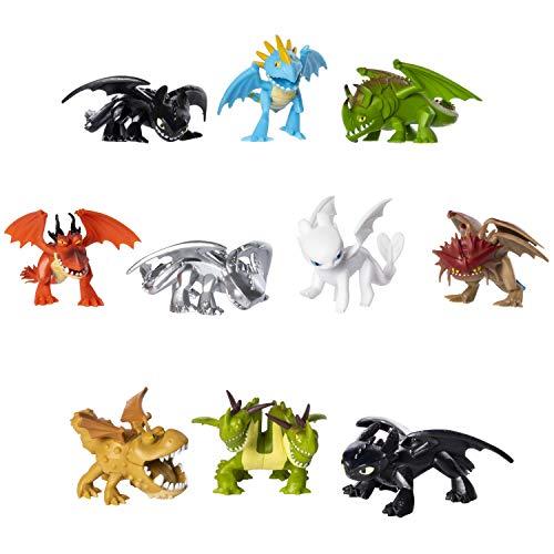 Dragons 6045161 - Movie Line - Mystery Dragons, Sammelfigur, Drachenzähmen leicht gemacht 3, Die geheime Welt