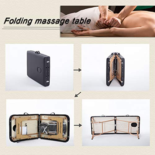BestMassage 2-Fold Spa Bed