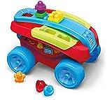 Mega Bloks Carrito Encajabloques, juguete de construcción para bebé +1 año (Mattel FVJ47) , color, modelo surtido